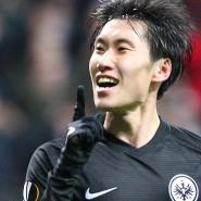 Ich war's: Daichi Kamada ragt bei Eintracht Frankfurt mit drei Toren heraus gegen Salzburg.