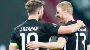 Eintracht Frankfurt und das doppelte Glück