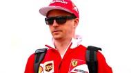Kimi Räikkönen geht eine weitere Saison mit Sonnenbrille und Ferrari-Outfit durchs Fahrerlager der Formel 1.