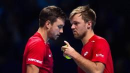 Tennis-Doppel Krawietz/Mies ausgeschieden