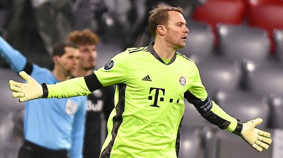 Fc Bayern Lob Fur Manuel Neuer Nach Cl Sieg Uber Salzburg