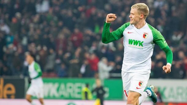 Augsburg baut Erfolgsserie aus