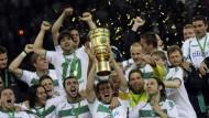 Werder Bremen gewinnt den DFB-Pokal 2009