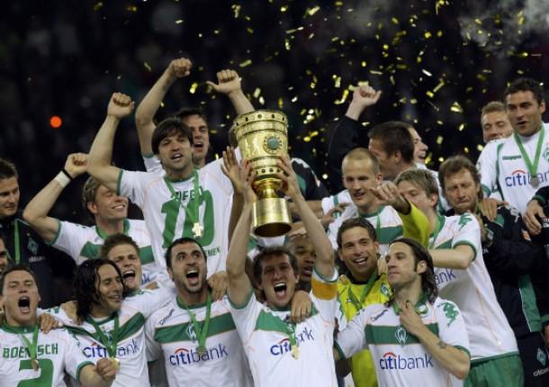 Schlussbild einer doch noch versöhnlichen Saison von Werder Bremen