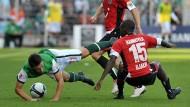 In Bremen gelang nicht viel: Werder trennte sich von Hannover 96 folglich mit einem torlosen Remis