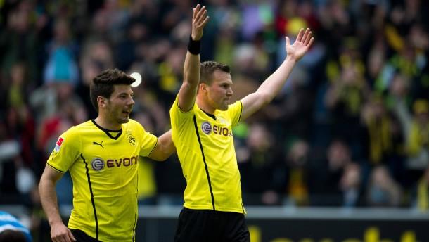 Dortmund spielt sich in Form