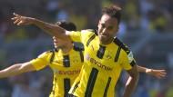 Dortmund siegt dank Aubameyang
