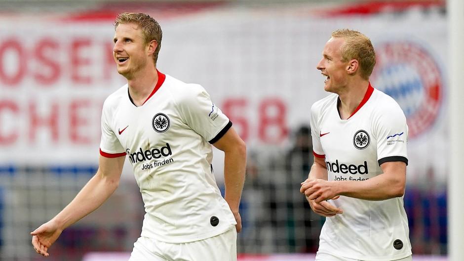 Neue Eintracht-Führung: Hinteregger und Rode sind die Schlüsselspieler