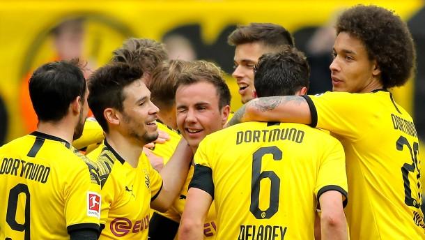 Dortmund provoziert die Bayern im Titelduell