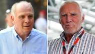 Zwei Macher mit gemeinsamer Sache: Bayern-Präsident Uli Hoeneß und Red-Bull-Chef Dietrich Mateschitz