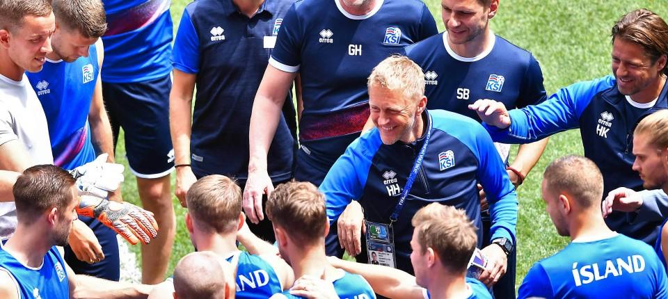 Islands Nationalmannschaft Ist Bei Fussball Wm Mehr Als Huh
