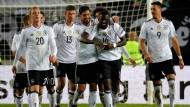 Am Ende klarer Sieger: Team Deutschland gegen Aserbaidschan