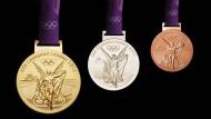 44 Medaillen holten die Deutschen in London 2012 – so viele sollen es mindestens auch in Rio sein.
