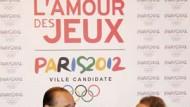 Favorit Paris: Chirac und Bürgermeister Delanoe