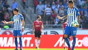 Hannover fertigt die Hertha ab