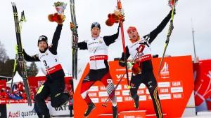 Rydzek fliegt zur dritten WM-Medaille