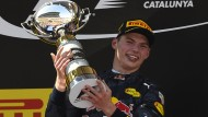 Jüngster Formel1-Grand Prix-Sieger: Max Verstappen