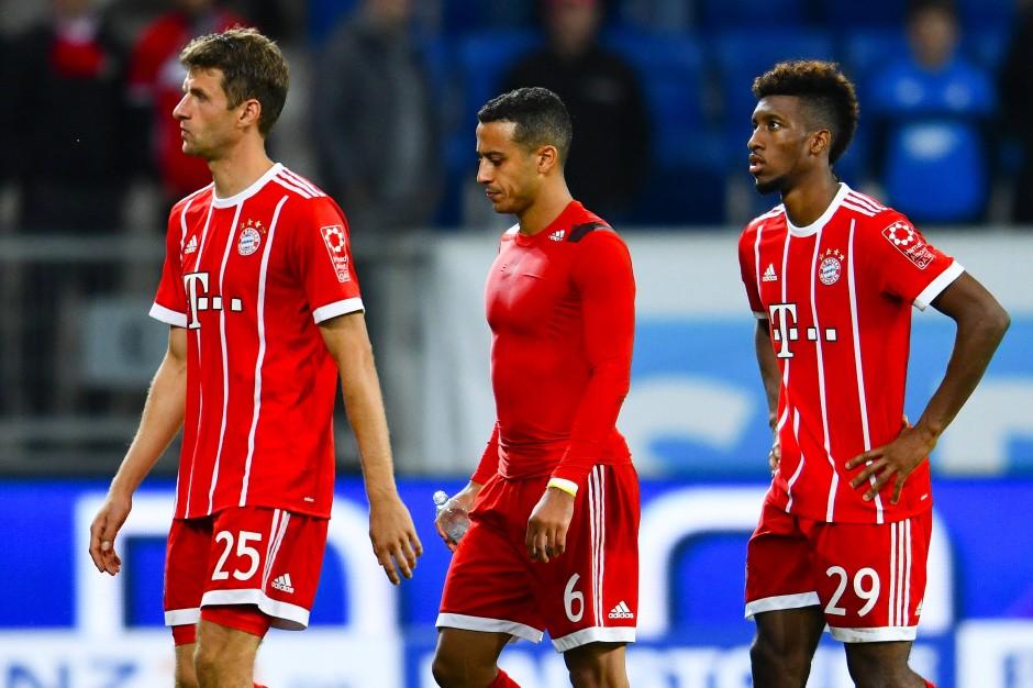 Ungewohntes Bild: Die Bayern verlieren in Hoffenheim