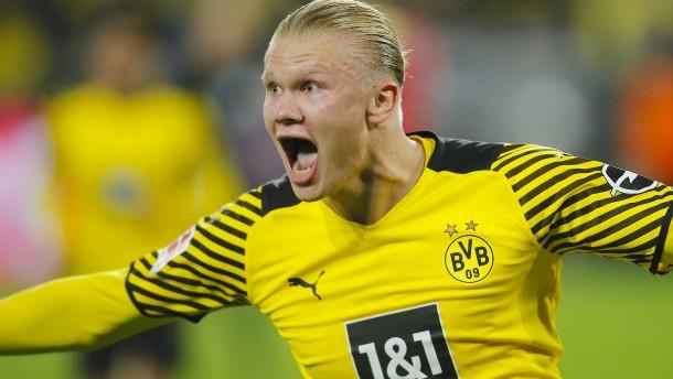 Haalands Knaller lässt Dortmund beben