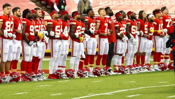 Buhrufe gegen Spieler bei NFL-Saisonstart