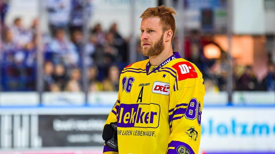 Daniel Pietta: einer der wenigen Gründe, noch Eishockey in Krefeld zu besuchen.