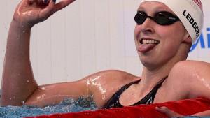 Ledecky schon im Vorlauf mit Weltrekord