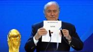 Blatters Wahlverwandte