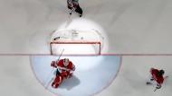 Unfreiwillig im Rampenlicht: Österreichs Torwart Swette kassiert zehn Stück gegen Kanada