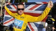 Saubere Weste: Konkurrenten hegen Zweifel an Bradley Wiggins