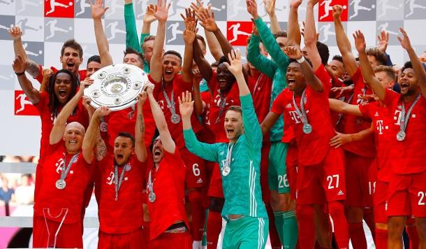 Bilderstrecke Zu Fussball Bundesliga Bayern Munchen Ist