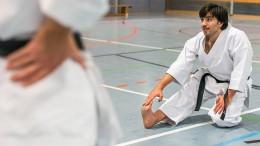 Das bewegende Schicksal eines syrischen Karatekämpfers