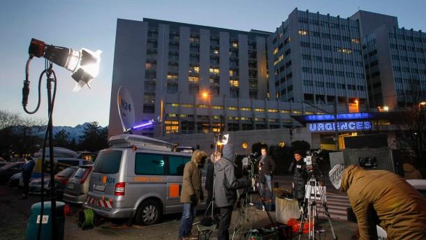 Medienrummel stört Abläufe in der Klinik