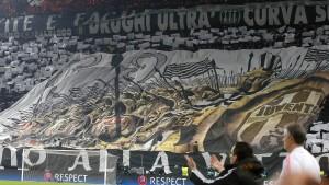 Schlag gegen Ultra-Chefs von Juventus Turin