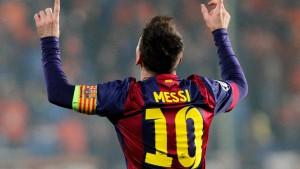 Messi kennt keine Grenzen