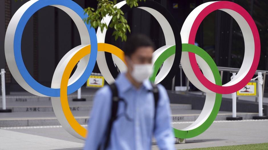 Die Olympischen Spiele in Tokio stehen im Zeichen der Pandemie.