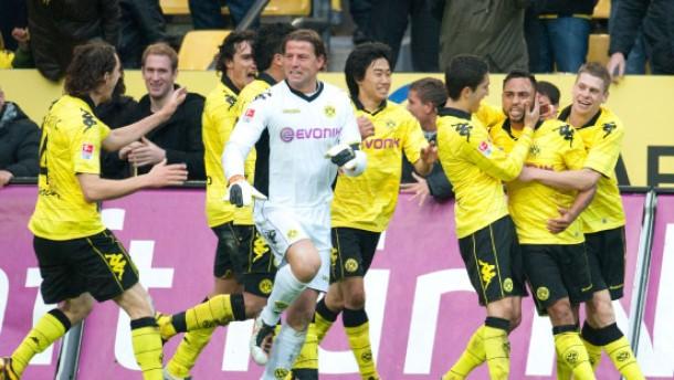 Dortmunds Ausgleich in letzter Sekunde