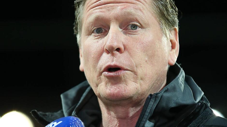 Aus im DFB-Pokal in Regensburg: Köln-Trainer Markus Gisdol