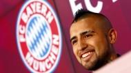"""""""Ein Traum erfüllt sich"""": Arturo Vidal freut sich auf den FC Bayern"""