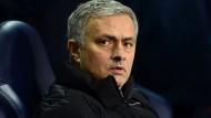 Auch José Mourinho dürfte bald wieder in England auftauchen auf der Trainerbank.