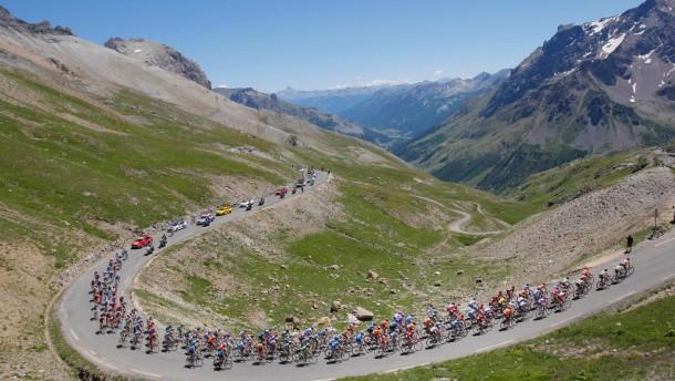 Etappenplan der 101. Tour de France