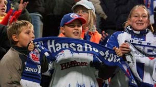 Hansa Rostock klar auf Erstliga-Kurs