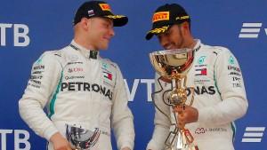 Mercedes-Doppelsieg lässt Vettels WM-Traum schwinden