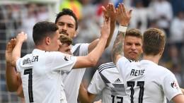 Deutschland gelingt der perfekte Start