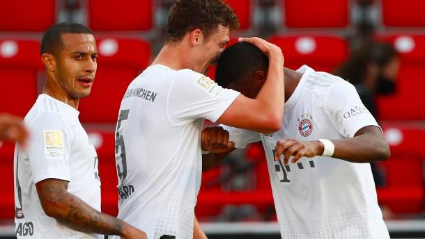 Zwei Treffer und eine Breitseite der Bayern