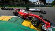 Unzufrieden mit der Situation bei Ferrari: Sebastian Vettel drängelt