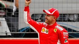 Hamiltons Panne macht den Weg frei für Vettel
