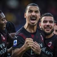 Ein Mann im Mittelpunkt: Zlatan Ibrahimovic zieht beim AC Mailand alle Blicke auf sich.