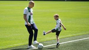 Das zweite Fußballerleben des Arjen Robben