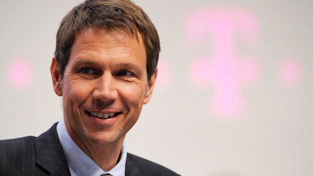 Telekom-Vorstandschef René Obermann geht Ende 2013