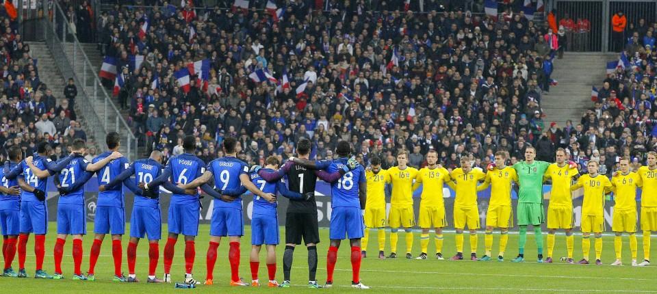 Schweigeminute Frankreich